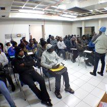 Dirección del trabajo capacitó a haitianos para que eviten