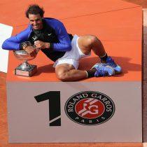 Rafael Nadal hace historia y conquista su décimo Roland Garros