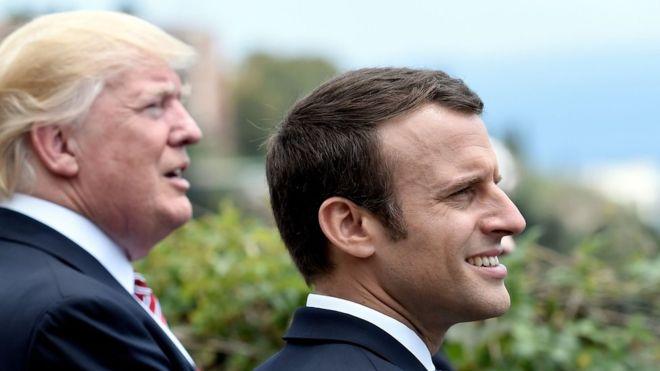 ¿Es el presidente de Francia Emmanuel Macron el paladín anti Trump que esperaban los liberales del mundo?