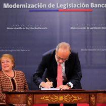 Gobierno firma esperado proyecto para nueva Ley de Bancos: BancoEstado necesitaría capitalización de US$1.000 millones para cumplir con nueva normativa