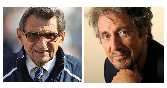 Al Pacino interpretará a famoso entrenador universitario acusado de abuso sexual
