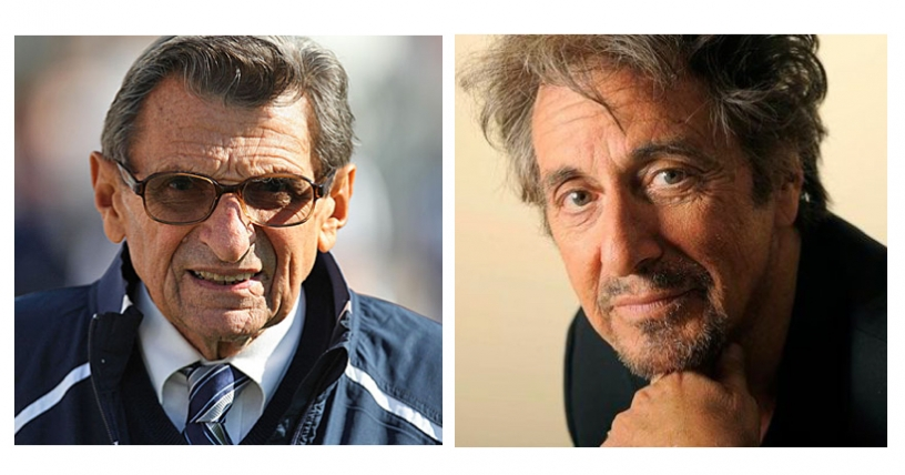 Al Pacino interpretará a famoso entrenador universitario acusado de abuso sexual