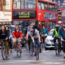 Los ciclistas engreídos son la clave para una ciudad sin contaminación