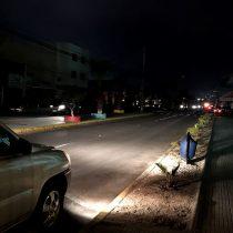 Apagón en el norte deja a unos 600 mil usuarios sin luz