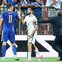 [VIDEO] Jugadores de la Roma protagonizan pelea tras partido entre sus selecciones