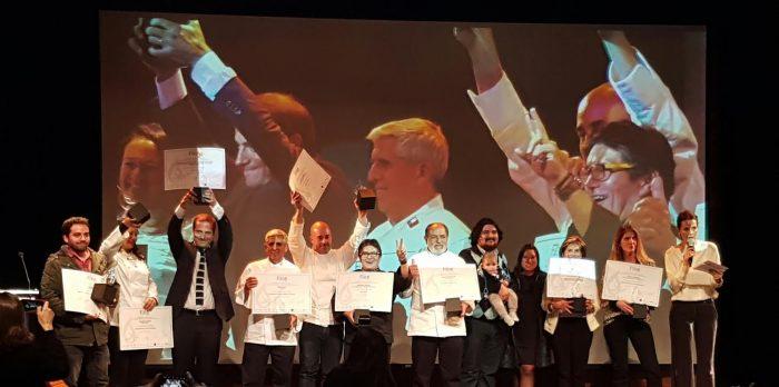De gala se premió a lo mejor de la gastronomía chilena