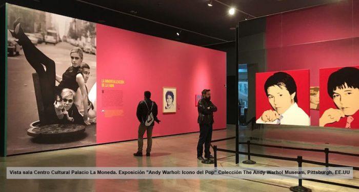 Andy Warhol: El rey del trending topic en Chile