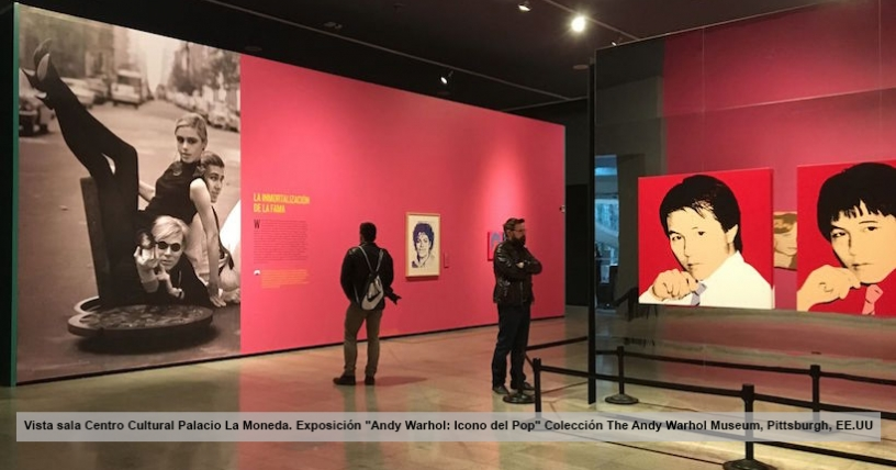 Andy Warhol: El rey del trending topic en Chile
