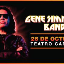 Gene Simmons aterrizará en Santiago para traer su faceta solista