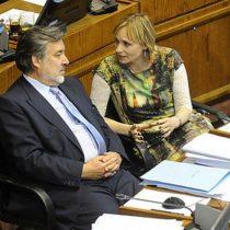 """Guillier y Goic acuerdan continuar con la Nueva Mayoría pese a quejas del """"Gute"""""""