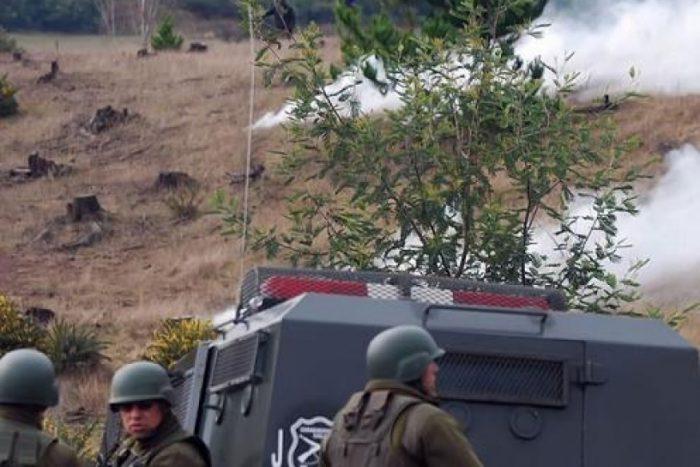 INDH presenta recurso por operativo policial con gas lacrimógeno que afectó a niños mapuches