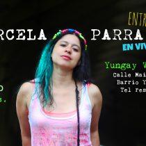 Cantautora Marcela Parra se presenta gratis en Barrio Yungay
