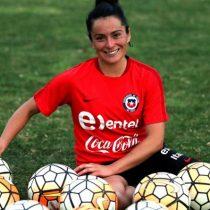 """María José Rojas, goleadora de la Roja: """"Selección femenina debe tener mismos beneficios que selección de hombres"""""""