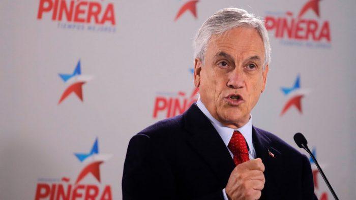 Frente Amplio dice que chiste machista de Piñera es