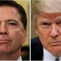 Trump acusa a ex director del FBI de