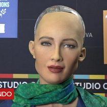 [VIDEO] Sofía, la increíble robot hiperrealista que está