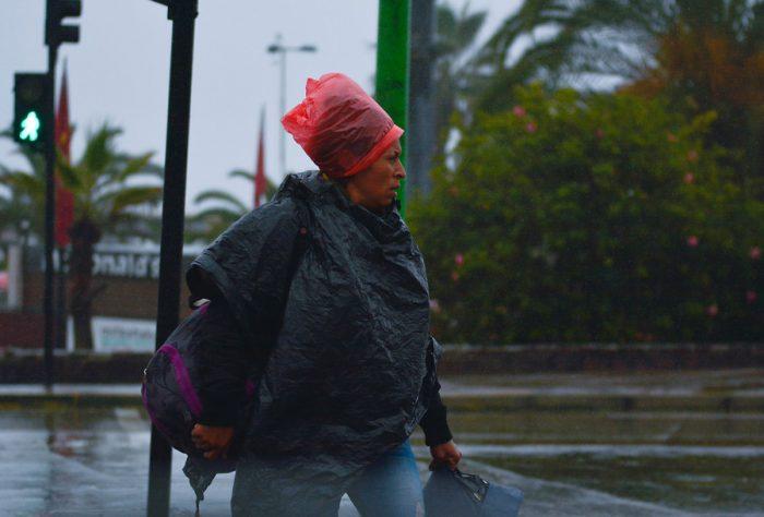 [FOTOS] Antofagasta bajo la lluvia