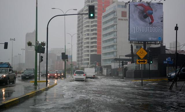 Suspenden hasta el viernes las clases en la Región de Antofagasta por temporal