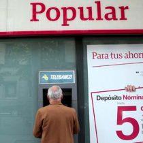 Banco Popular perdió 380.000 cuentasy Santander gana más de un millón de clientes en 2017