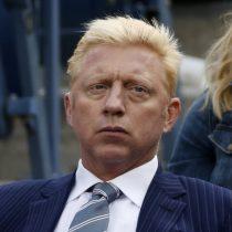 De la gloria en Wimbledon a morder arcilla: Boris Becker, ex número 1 del tenis, fue declarado en banca rota