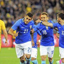 Australia sufre goleada de 4-0 ante un Brasil lleno de suplentes