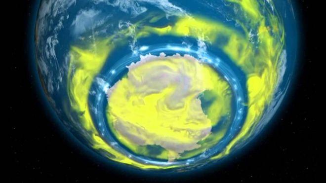La sustancia química que vuelve a poner en peligro la capa de ozono