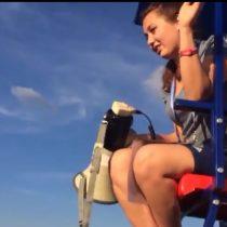 [VIDEO] La broma que realizó un grupo de chilenos a guardia rusa