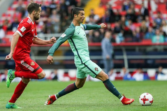 Copa Confederaciones: Portugal consigue sufrido triunfo de 1-0 ante Rusia