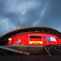 Chile sale esta tarde a disputar ante Alemania el liderato del grupo B de la Confederaciones