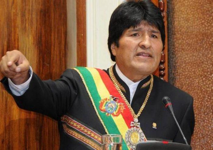 Morales dice que sentencia contra 9 bolivianos es una