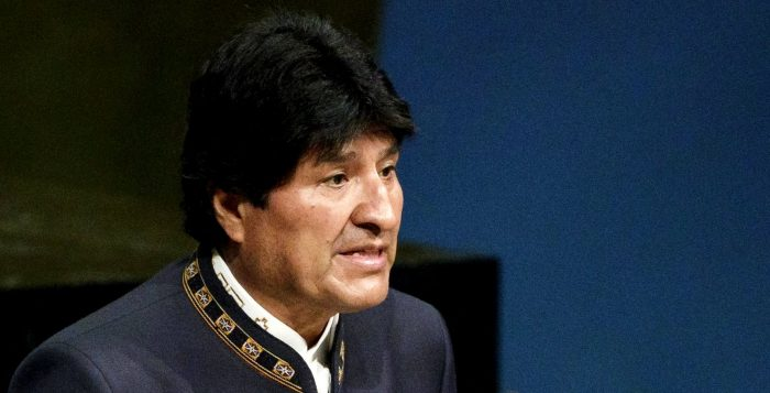 Evo Morales pide justicia para boliviana asesinada en Iquique