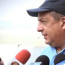 [VIDEO] Presidente de Costa Rica se come una avispa en vivo