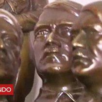 [VIDEO] Águilas, esvásticas y bustos de Hitler: la inquietante colección de objetos nazis que estaba escondida en Buenos Aires