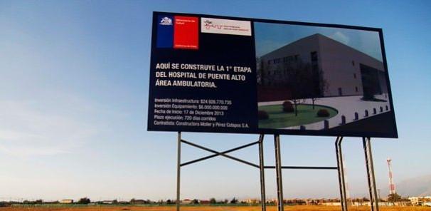Andrade confirma que licitación de nuevo Hospital de Puente Alto y Sótero del Rio quedará definida este año