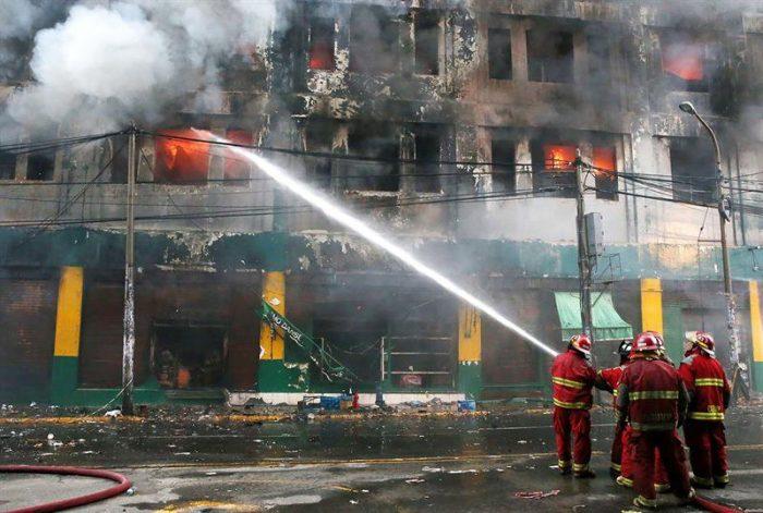 Incendio revela el rostro más cruel de la explotación laboral en Perú