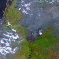 La ESA fotografía el trágico incendio de Portugal desde el espacio