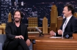 [VIDEO] Keanu Reeves habla con Jimmy Fallon sobre el mito sobre su