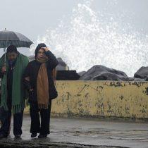 Fuertes lluvias, viento y marejadas anormales: lo que se viene para los próximos días en gran parte del país