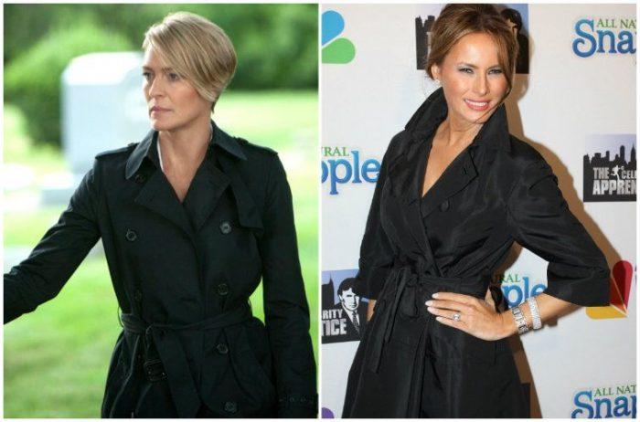 Más allá del estilo: ¿Claire Underwood se parece a Melania Trump?