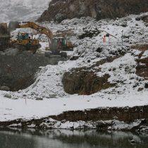Nieve complica labores de rescate de mineros atrapados en Aysén