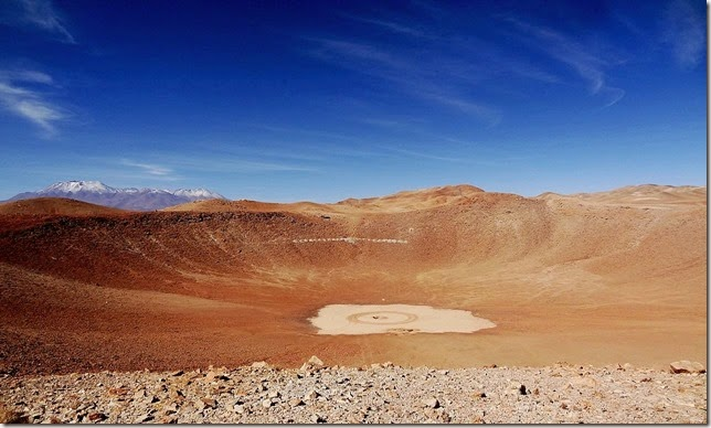Con visita a cráter de meteorito cerca de Antofagasta se celebra el Día del Asteroide