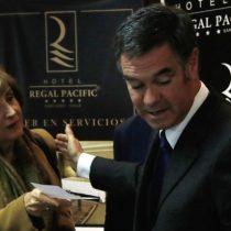 Hijo de Ossandón emplaza a Pilar Molina a