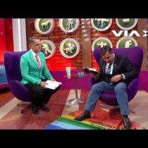[VIDEO] El homofóbico ataque del Pastor Soto usando bandera LGBT
