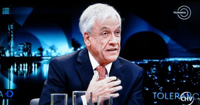Piñera contra las cuerdas en 'Tolerancia Cero' por platas en paraísos fiscales: cayó presa de sus propias palabras