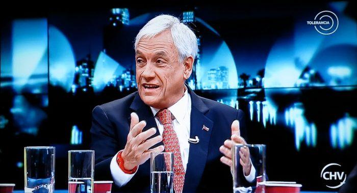 Frente Amplio compara a Piñera con