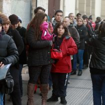 Larga fila para postular al Salesianos Alameda: