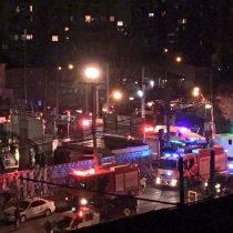[VIDEO] San Miguel: derrumbe de edificio dejaa cuatro trabajadores atrapados