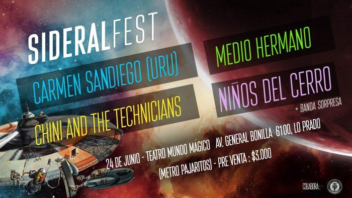 Sideral Fest reúne a importantes bandas indie latinoamericanas