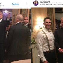 [VIDEO] Donald Trump aparece de improviso en medio de un matrimonio