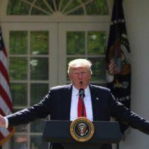 Cambio climático y el retiro de Estados Unidos del Acuerdo de París